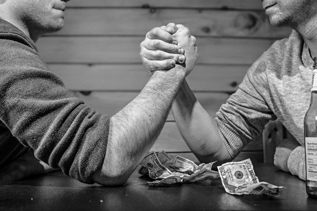 arm wrestling for superiority in a home inspection territory