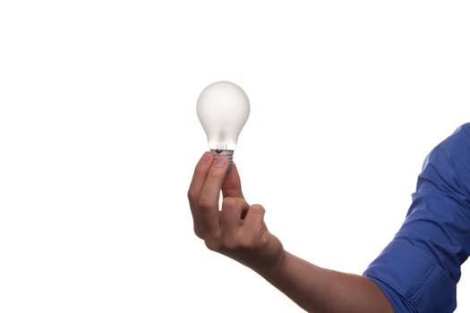 a light bulb goes on for the home inspector