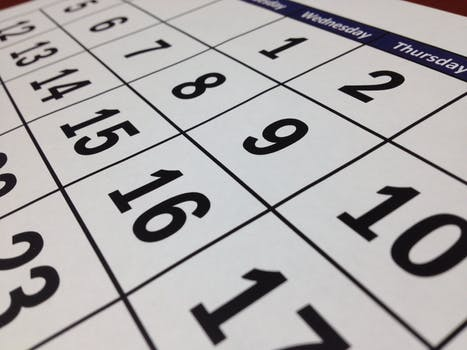 calendar of dates for the next home inspection platform training class in Louisiana