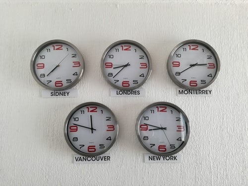 pic of clocks
