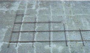 pic of concrete settlement cracks
