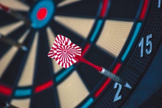 pic of dart board