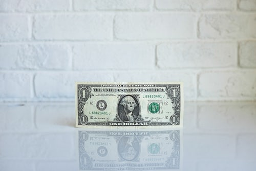 pic of one dollar