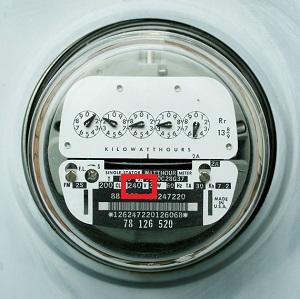 pic of electric meter