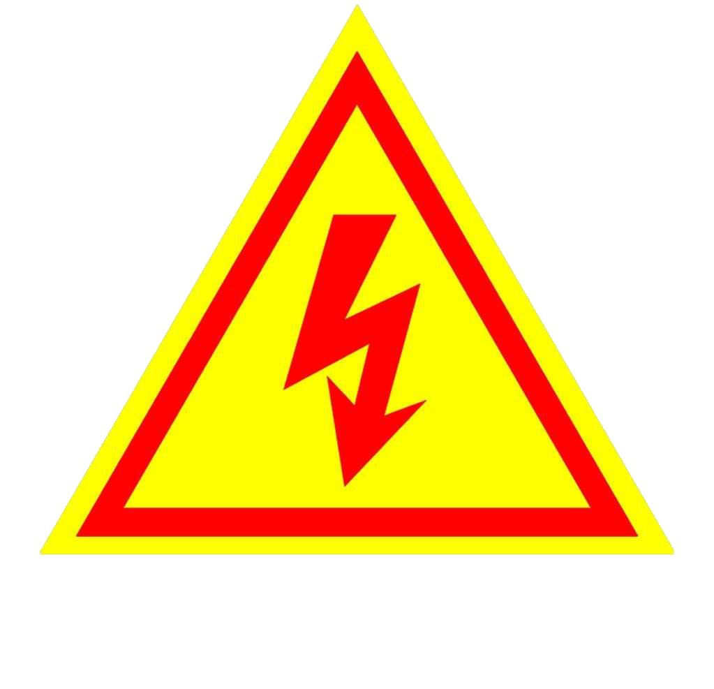 pic of electric warning sign
