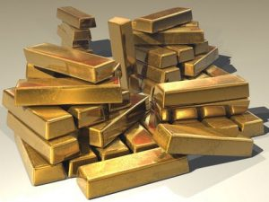 pic of gold bars