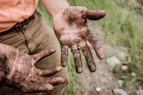 Getting your hands dirty doing home inspections