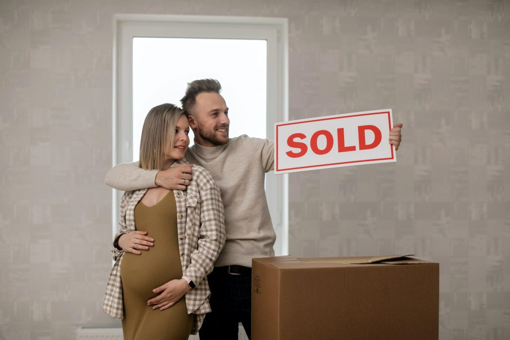 your home inspection clients buying their house