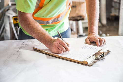 building official working with a home inspector