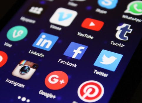 pic of social media apps