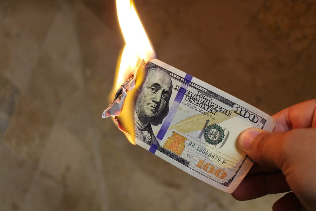 burning through the money you made as a home inspector