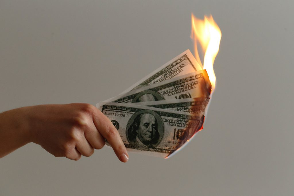 burning money while trying to market our home inspection company