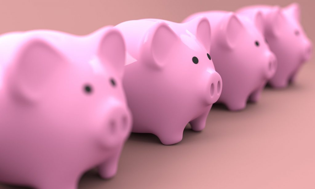 piggybank for saving all the money you made from your home inspection career