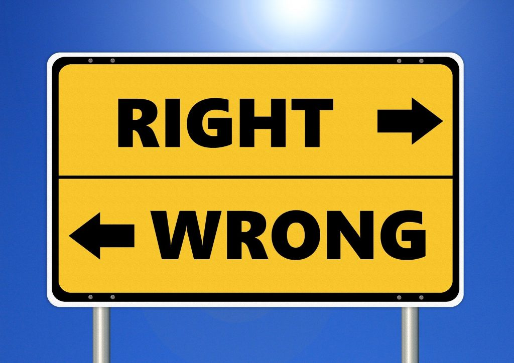 choosing between right and wrong in your home inspection business