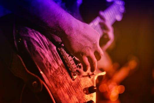 pic of rock guitar