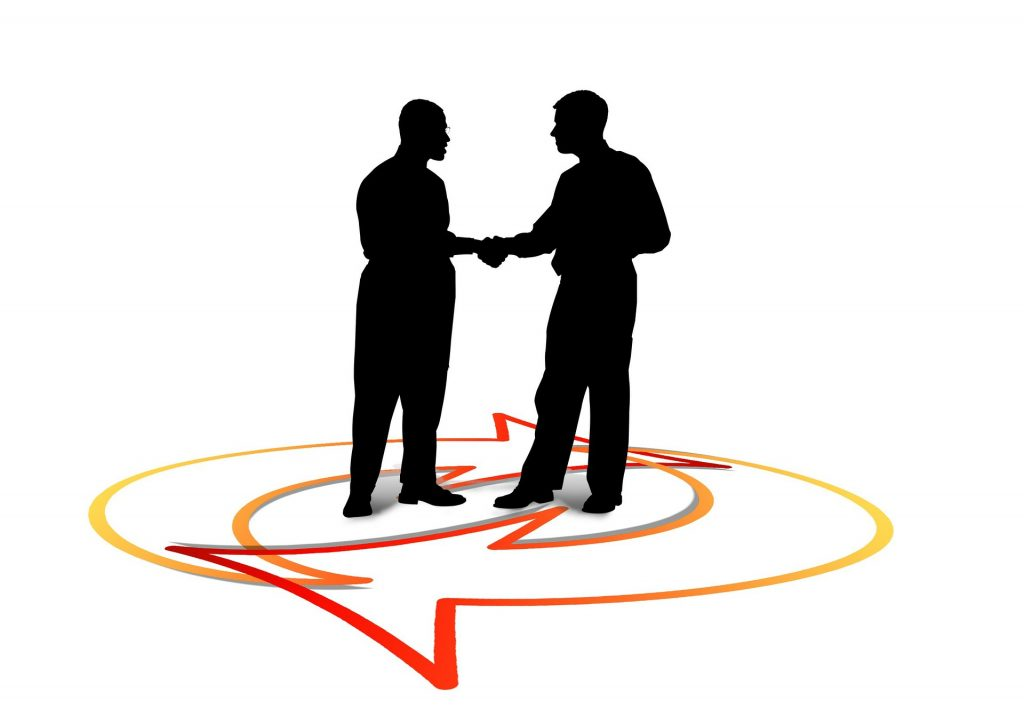 shaking hands with your home inspection client