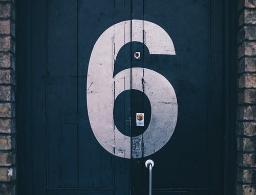 pic of the number six