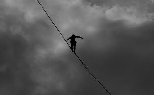 running a home inspection business is like walking a tightrope